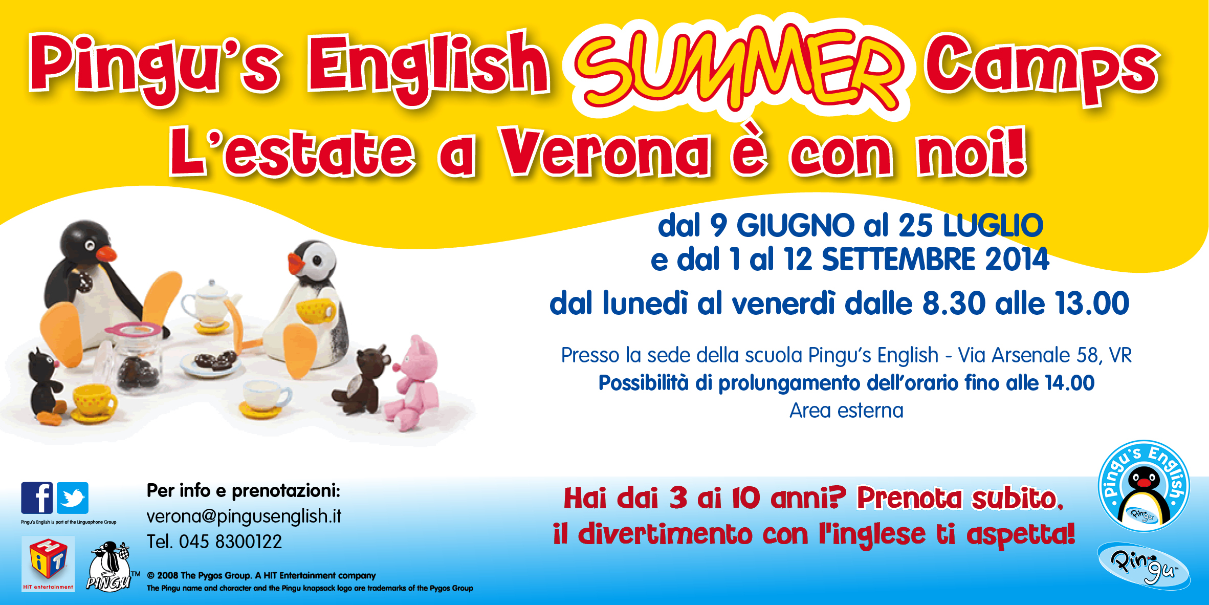 summer camp cartolina