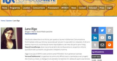 lara rigo blogfest rimini