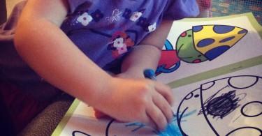 matite di junia bambini disegno