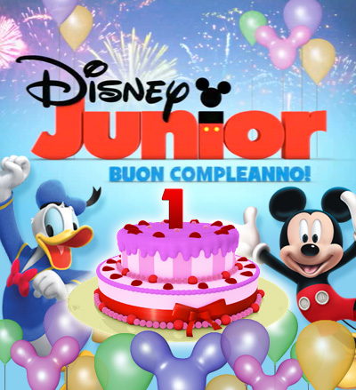 Preferenza Disney Junior ti fa gli auguri SI69