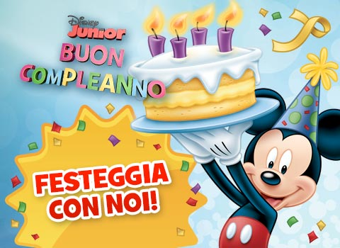 Disney Junior Ti Fa Gli Auguri