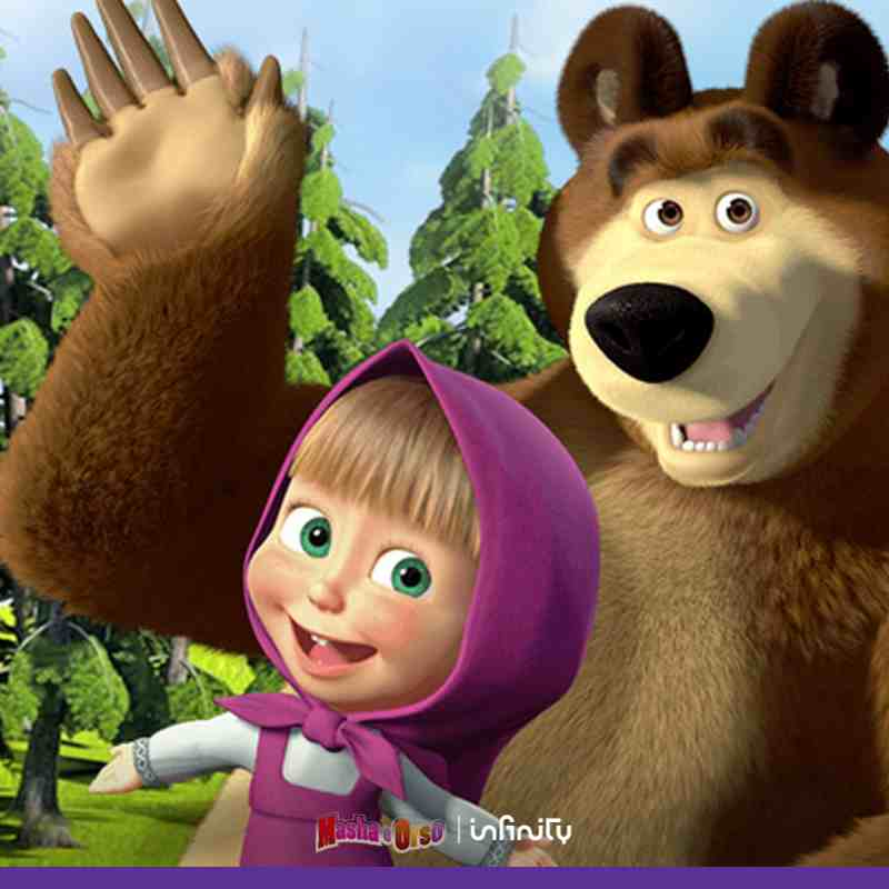 cartone masha e orso gratis