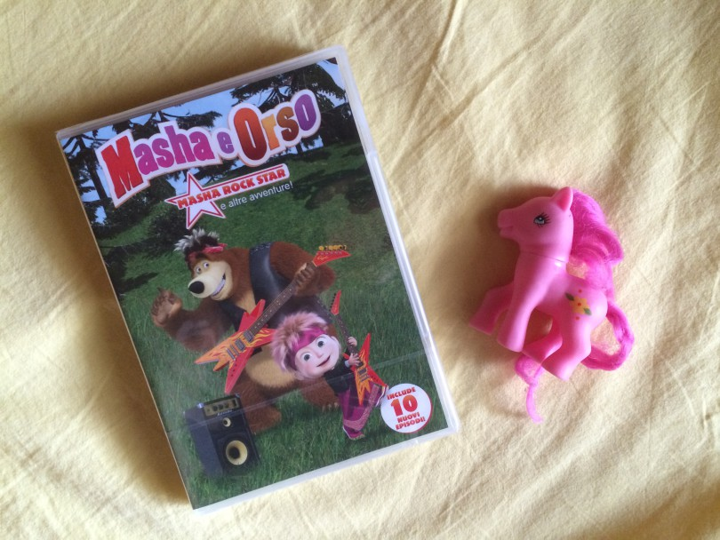 nuovi episodi masha e orso dvd